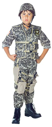 [Boys Us Army Ranger Kids Child Fancy Dress Party Halloween Costume, L (10-12)] (Comical Halloween Costumes)