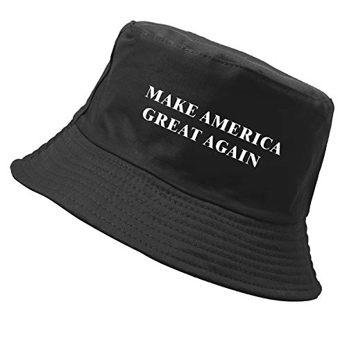 Encorashop Make America Great Again Hat Donald Trump 2020 Campaign Cap (Keep America Great Bucket Hat -