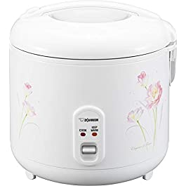 Zojirushi Rice Cooker and Warmer, 1.8-Liter, Tulip