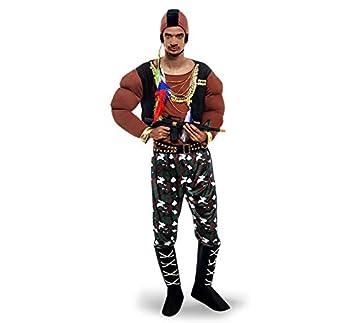Disfraz de Fugitivo forzudo para hombre: Amazon.es: Juguetes y juegos
