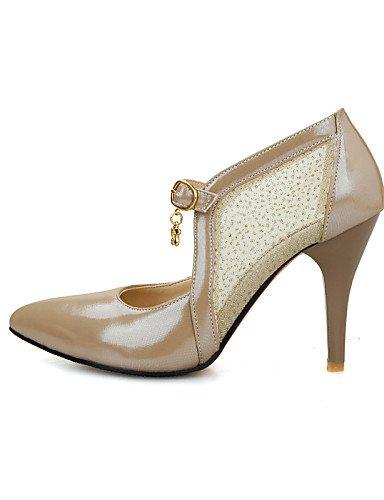 Almendra Stiletto Cn31 Mujer Oro Y vestido Eu44 Golden tacón us2 semicuero rosa Cn46 us12 5 Ggx Fiesta Pink Zapatos Noche De Puntiagudos Blanco Uk10 Uk1 tacones Eu32 tacones vBWqEIAaZn