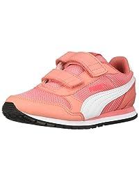 Puma St Runner V2 Zapatillas de Malla con Cierre de Velcro para niños