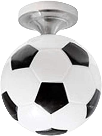 Lámpara de techo con forma de balón de fútbol E27 lámpara colgante ...