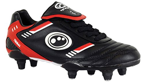 New Optimum Tribal SI Chaussures Foot Hommes A Lacets Football Clous Senior Taille 7-12