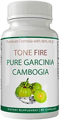 Tone Fire Garcinia Cambogia | Tone Fire Garcinia Pills for Weight Loss Pills | Tone Fire Keto Garcinia 80% HCA 1500mg Daily Extract - Carcinia Cambogia | Garicinia | Garcinea | Tone Fire Gar