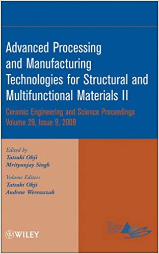 Advanced Processing and Manufacturing Technologies for Structural and Multifunctional Materials VI