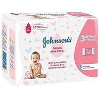 Johnson's Baby Islak Mendil Hassas Ekopaket 3x72li