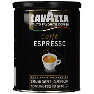 Lavazza Ground Coffee - Caffe Espresso - 8 oz - 2 pk