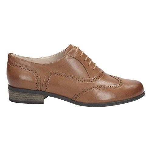 Clarks Hamble Oak - Zapatos de cordones, Negro, 4 UK C