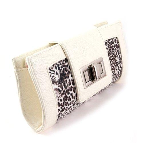 Giorry Yippydada Secrets Clutch Diaper Bag, Leopard