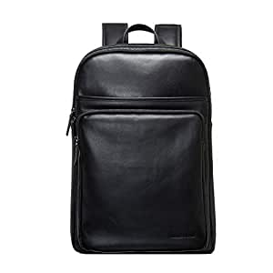 RJW Outdoor Casual Leather/Leather Travel Business Men's Backpack/Backpack Fashion