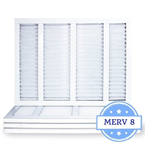 16-3/8x21-1/2x1 Air Filter, Pleated, MERV 8 (Case of 4) Fits Listed Models of Carrier, Bryant & Payne Air Conditioner Handler