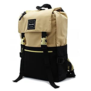 Kjarakär Backpack Flap Front With Drawstring Best Gift For Women, Girls and Men Great Bookbag For School