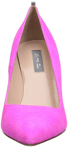 Sjp By Sarah Jessica Parker Womens Fawn Pump In Pelle Scamosciata Rosa Caramello