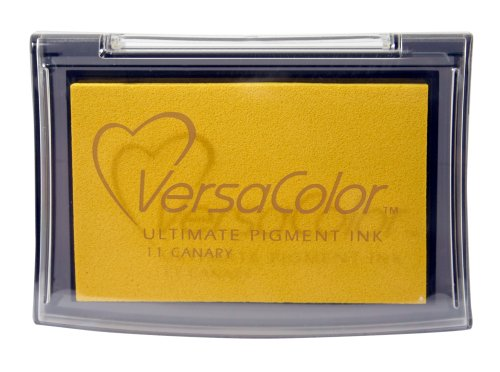 - Tsukineko Full-Size VersaColor Ultimate Pigment Inkpad, Canary