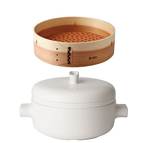 JIA Inc Food Steamer and Rice Cooker Combo Set