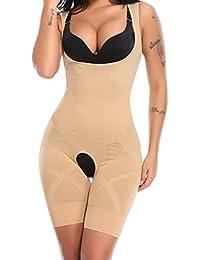 cfa432e1ba Mid Thigh Slim Body Shaper Open Bust Bodysuits Waist Shaping Tummy Control  Shapewear