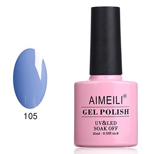 AIMEILI Soak Off UV LED Gel Nail Polish - Borago Officinalis