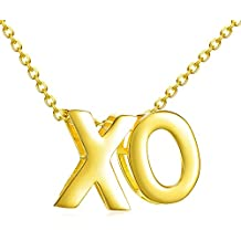 Hugs and Kisses XO Necklace | 925 Sterling Silver