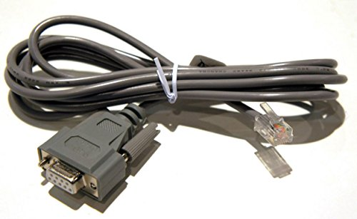 (APC PDU Serial Cable 940-0144/A DB9 to RJ12 Configuration Replacement Console Serial Cable AP7900, AP8841,9000 etc, Rack Metered PDU)