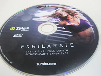 Zumba 'Exhilarate' Workout DVD from the Exhilarate DVDs Set