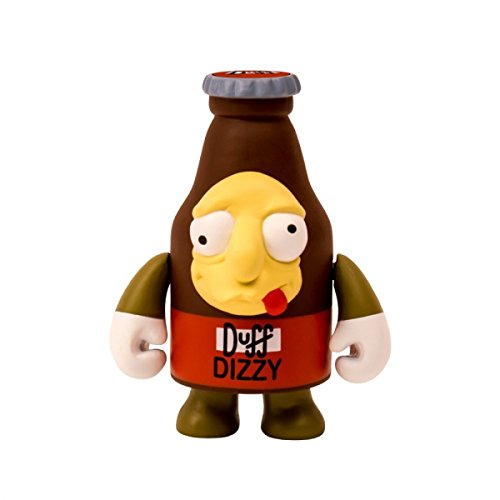 Vinyl Kidrobot Figure (Kidrobot The Simpsons Dizzy Duff Beer 3-Inch Vinyl Figure)