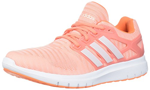 adidas Women's Energy Cloud V Running Shoe Chalk Coral/Orchid Tint/Orchid Tint