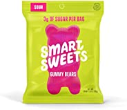 SmartSweets Gummy Bears Fruity Candy With Low-Sugar (3g) & Low Calorie (90)- Free of Sugar Alcohols &