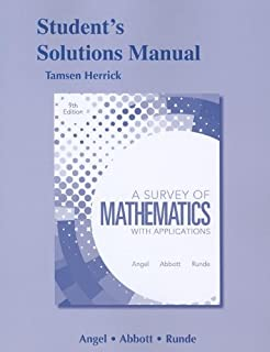Amazon. Com: video lectures to accompany a survey of mathematics.