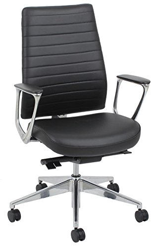 - Black Bonded Leather Manager Chair