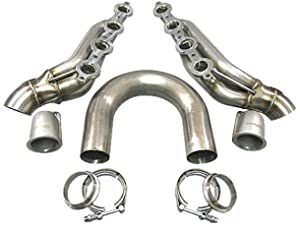 Cxracing DIY Twin Turbo LS1 LS Manifold Header T4 Vband For Supra GTO FC S13 S14