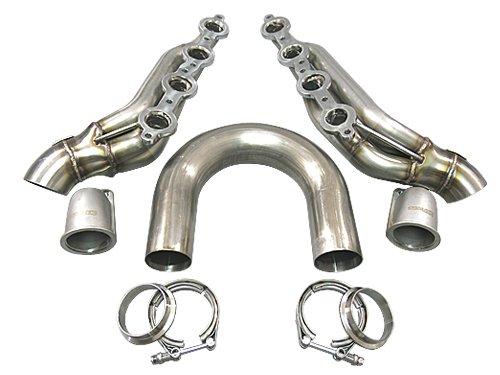 (Cxracing DIY Twin Turbo LS1 LS Manifold Header T4 Vband For Supra GTO FC S13 S14)