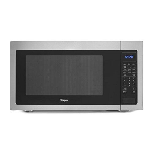 Whirlpool WMC50522AS Stainless Countertop Microwave