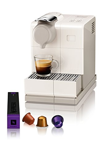 Nespresso Lattissima Touch Original Espresso Machine with Milk Frother by De'Longhi, Creamy White by DeLonghi (Image #1)