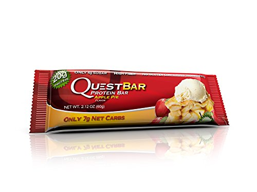 Quest Protein Bars, Apple Pie, 2.12 Ounce, Pack of 48 ,Quest-lh by Quest Nutrition