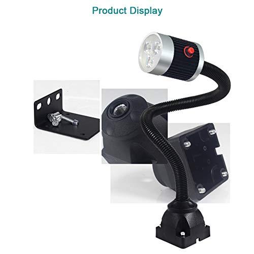 Summerwindy 220V 9W Led Lampe de Travail de la Machine 50Cm Col de Cygne Industriel Cnc Machine Outil de Tournage Lumi/èRe Fraiseuse Lumi/èRe de Travail Eu Plug