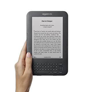 Kindle Keyboard eBook Reader with Free 3G and Wi-Fi (Sponsored Screensaver Version)