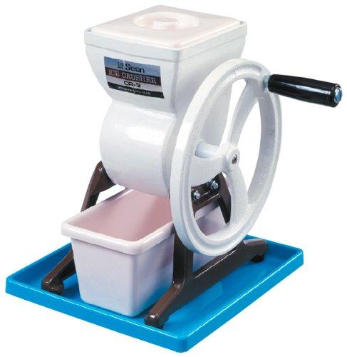 Cisne-trituradora-de-hielo-manual-de-CR-3-de-aluminio-Japn-importacin-El-paquete-y-el-manual-estn-escritos-en-japons