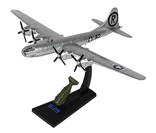 B-29 Superfortress Enola Gay 1/144 Diecast Model with ''Little Boy'' in 1/60 Scale by Air Force 1