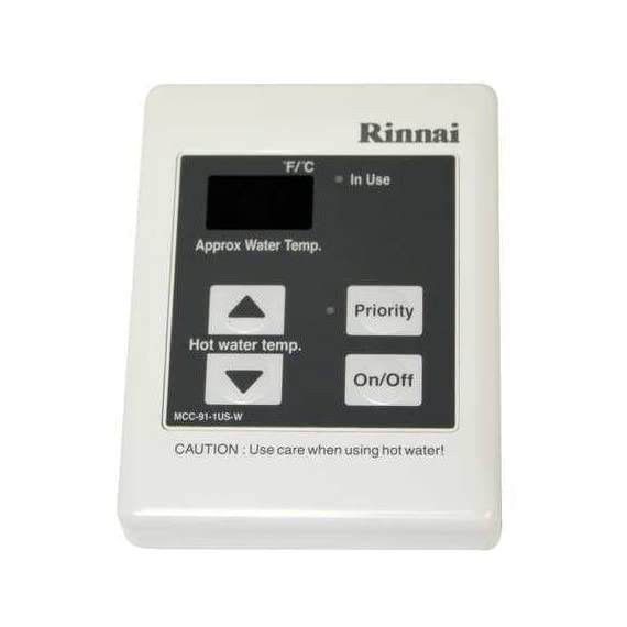 Rinnai MCC-91-2W Commercial Remote 98? to 160? Temperature Controller for the Ri, White by Rinnai 1 Rinnai MCC-91-2W Commercial Remote 98? to 160? Temperature Controller for the Ri, White by Rinnai