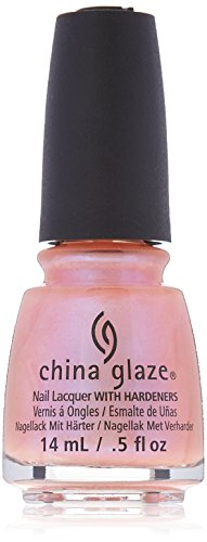 China Glaze Nail Lacquer with Hardeners:Afterglow 70697 ()