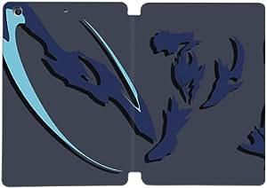 Cubierta de cuero y caja de la PC funda / soporte para funda de Apple iPad Mini 4 funda Con Magnetic reposo automático Función de despertador DIY por League Of Legends J6R7Dt7L6Fx
