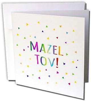 Amazon.com: 3dRose Mazel Tov – Felicitaciones o se feliz ...