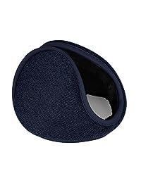 """uxcell® Outdoor Activities Warm Ear Earmuffs Winter for Men Women Dark Blue-3 M(16""""x4"""")"""