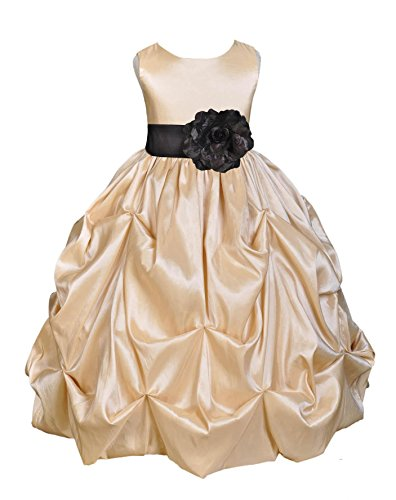 Buy junior bridesmaid bubble dresses - 2