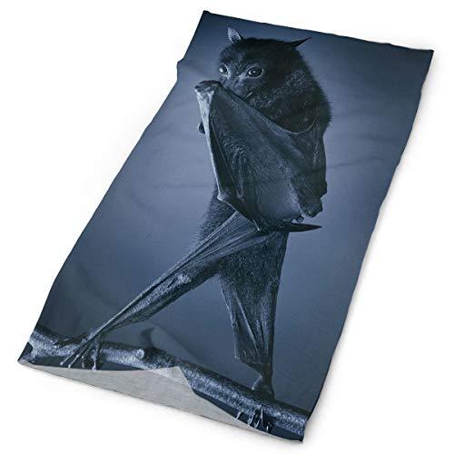 Ministoeb Magic Headwear Headband Mask Cool Black Bats