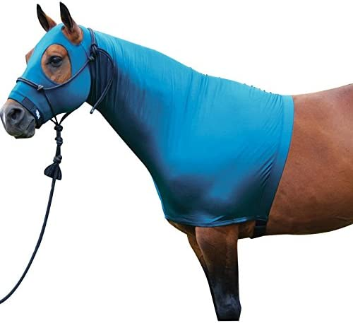 Sleazy Sleepwear For Horses Hood Burgundy L