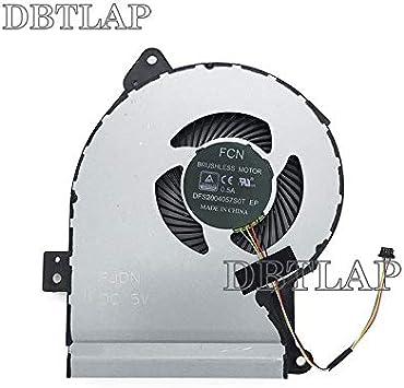 DBTLAP Nuevo Ordenador portátil CPU Ventilador para ASUS x541 x541sa X541SC X541U X541UV X541UA D541NA R541S X541JL Ventilador más Fresco: Amazon.es: Electrónica