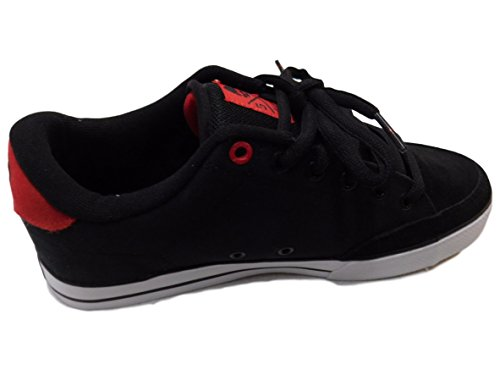 C1RCA Mens AL50 Skateboarding Shoe Black/True Red kzRggvHJ1b