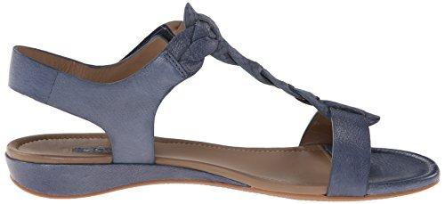 Ecco Womens Bouillon Knot Dress Sandal Denim Blue